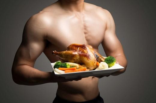 bữa tối cho người tập gym