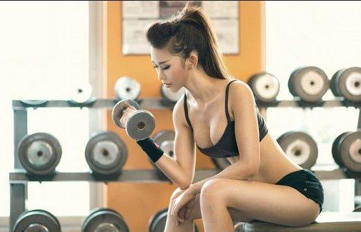 fitness giúp cơ thể săn chắc